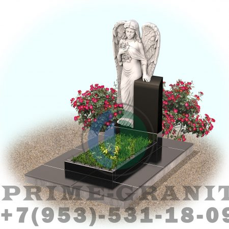 фото памятник ангел с крыльями