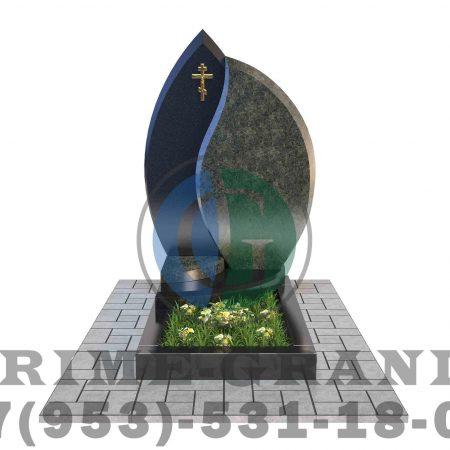 фото Эксклюзивный памятник из гранита для мужчин