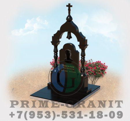 фото памятник на могилу с аркой